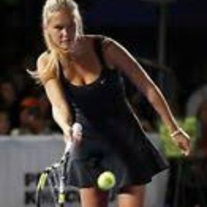 Nike Dri Fit Black Tennis Dress Control Lawn